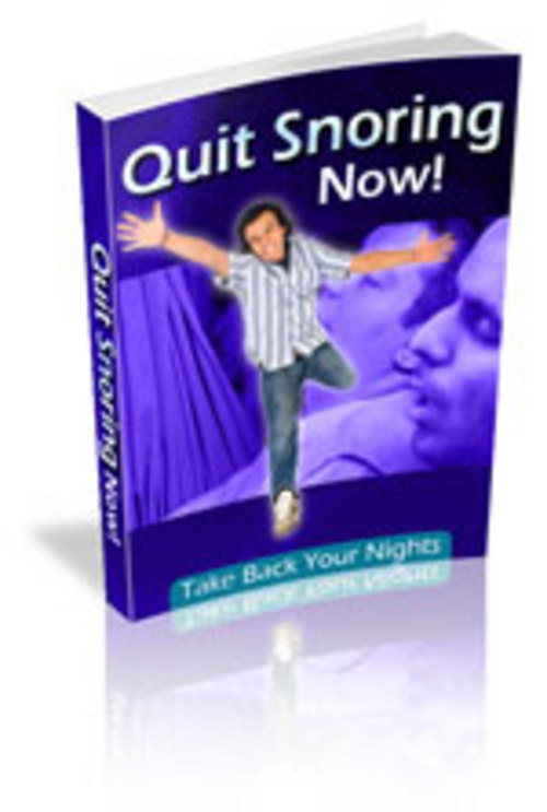 Product picture Quit Snoring