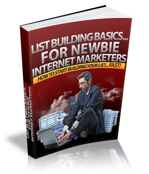 Product picture List Building Basics For Newbie + Master Resell Rights Licen