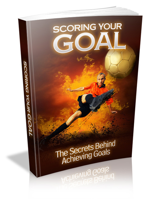 Product picture Scoring Your Goal + Master Resell Rights
