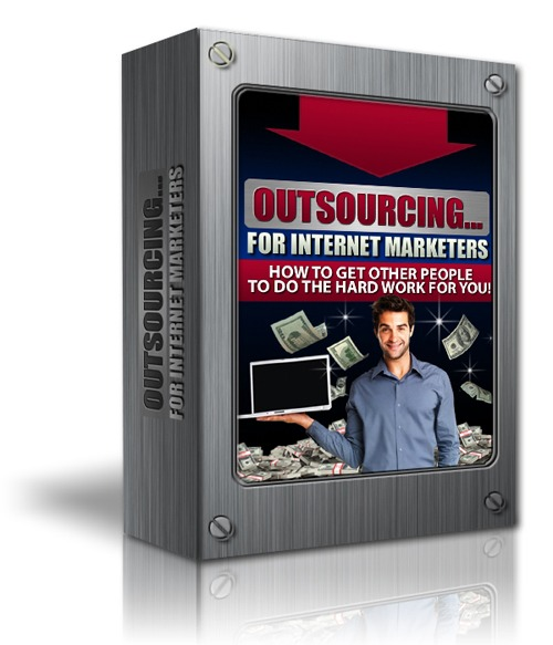 Product picture Outsourcing - For Internet Marketers + Resell Rights