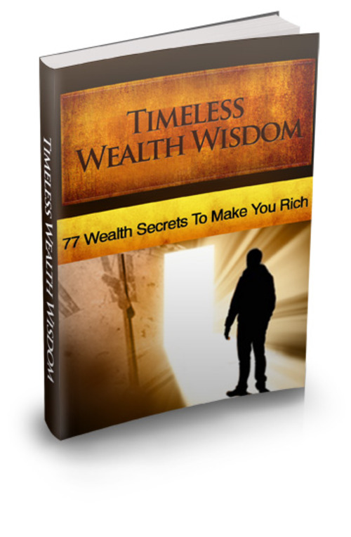 Product picture Timeless Wealth Wisdom + Master Resell Rights License