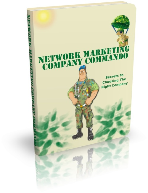 Product picture Network Marketing Company Commando + Resell Rights